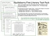 Huckleberry Finn Tests All Chapters 1_43 Mark Twain