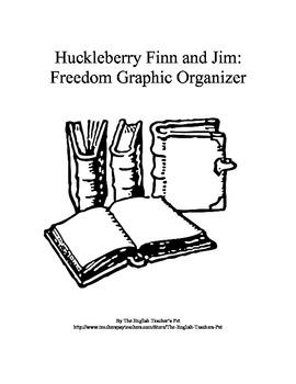 Huckleberry Finn and Jim's Freedom Graphic Organizer