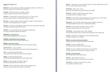 Hudson Bundle (Readygen Grade 5 Unit 4 Module A) Graphic Organizers & Vocabulary