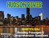 Hudson River Differentiated Nonfiction Reading Passages