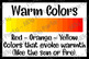 Hue - Warm and Cool Colors Poster Bundle!