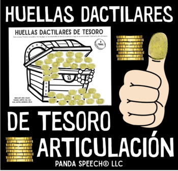 Huellas Dactilares de Tesoro: A Speech Therapy Art Activity in Español