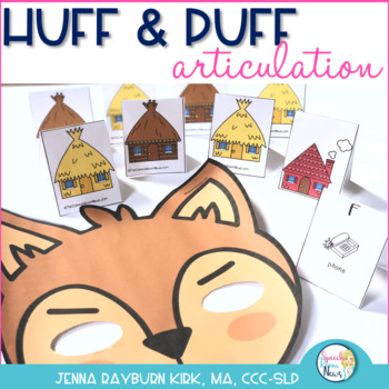 Huff and Puff Articulation: Three Little Pigs Activity