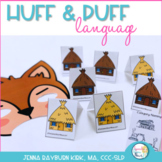 Huff and Puff Language: Three Little Pigs Activity