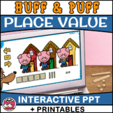 Huff and Puff Place Value - Hundreds, tens and ones