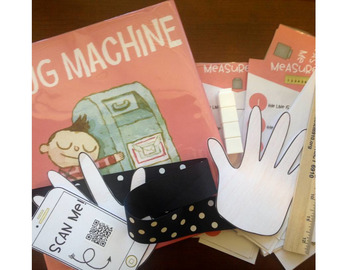 Hug Machine- A Sweet Craft and Centers Companion for Valentine's Day or Anytime