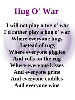 Hug O War Poem