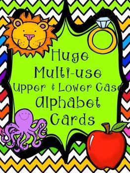 Huge Alphabet Cards