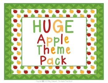 Huge Apple Theme Decor Pack (11 sets!)