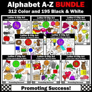 Beginning Sounds Clip Art A Z Teaching Resources Teachers Pay Teachers