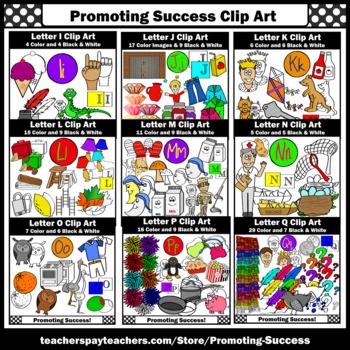 500+ Alphabet Pictures Clip Art, Beginning Sounds Clipart BUNDLE A-Z  SPS