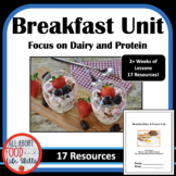 BUNDLE! Breakfast (Dairy and Protein) Unit