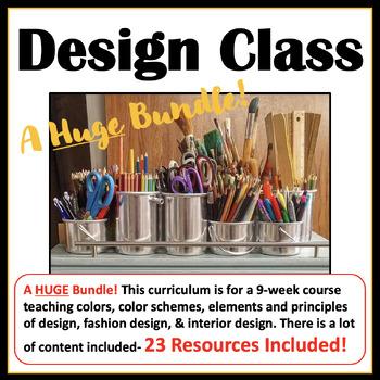 Huge Bundle Color Schemes Principles Elements Fashion Interior Design
