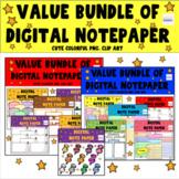 Huge Bundle Of Digital Stationery - Seller's Toolkit - Digital Paper Supplies