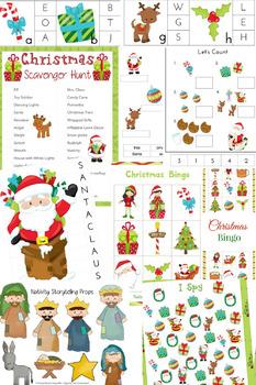 Huge Christmas Activities Pack
