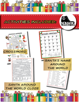 Huge Christmas Activity Pack - 30 activities, varied levels