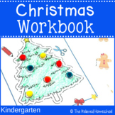 Huge Christmas Workbook - Kindergarten