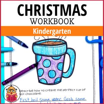 Huge Christmas Workbook - Kindergarten