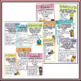 Huge Classroom Poster Bundle - Bright and Colorful Displays