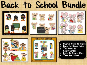 "Huge Clip Art Bundle ""Back to School"" ~ Savings"