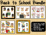 """Huge Clip Art Bundle """"Back to School"""" ~ Savings"""