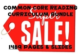 Huge Common Core Reading Curriculum Product Bundle