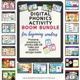 Huge Digital Phonics Activities BOOM Bundle - 28 phonics a