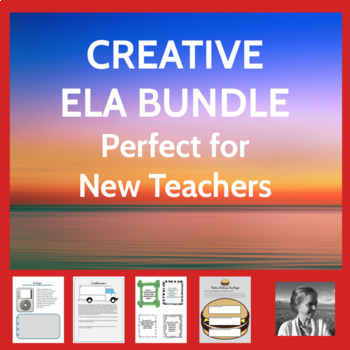 Creative ELA Bundle Perfect for New Secondary Teachers