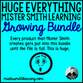 Huge Everything Mister Smith Learning- Growing Bundle