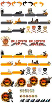 Huge Halloween Graphics Blowout