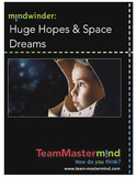 Huge Hopes & Space Dreams - A 2-lesson packet of goal sett