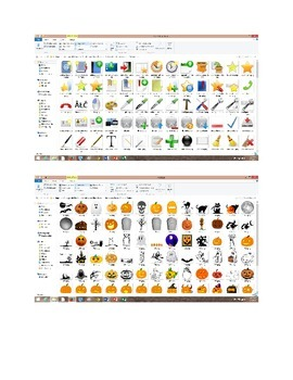 Huge Image Icon Packs with Free Halloween & Holidays Clipart Package