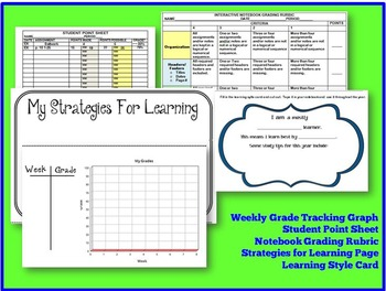 Huge Interactive Notebook Starter Kit for Upper-Level Grades and Any Subject