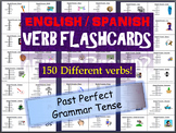 Huge Lot of English & Spanish Flash Cards in the Past Perfect Tense