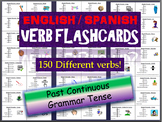 Huge Lot of English & Spanish Flashcards in the Past Continuous Tense