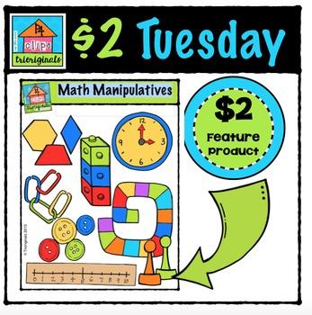 Huge Set of Math Manipulatives