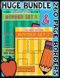Huge Page Border Bundle {TPT Sellers}