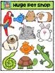 Huge Pet Shop {P4 Clips Trioriginals Digital Clip Art}