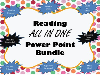 Huge Reading Interactive Power Points Set Growing Bundle