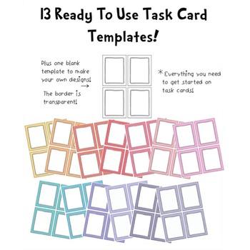 Huge Task Cards Starter Kit!