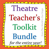 HUGE Theatre Drama Teacher's Toolkit Bundle--Games, Journals, Worksheets & More!