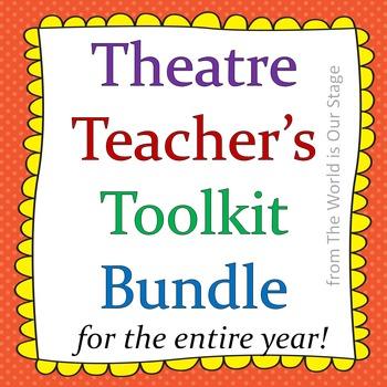 HUGE Theatre Drama Teacher's Toolkit Bundle--Games, Journals, Worksheets & More!