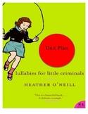 Huge Unit Plan.  Lullabies for Little Criminals by Heather