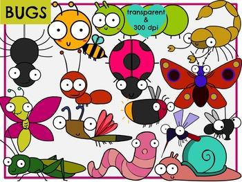 Bugs (Digital Clip Art)