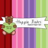 Huggie Bears Digital Papers Pack