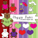 Huggie Bears Clipart Set