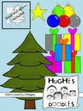 Christmas Clip Art- Hughes Doodles {Commercial and Personal Use}