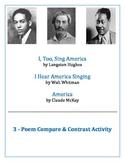 "Hughes, Whitman & McKay ""America"" Poems Compare/Contrast Activity"