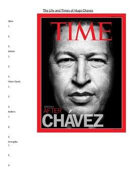 Hugo Chavez Biography Activity