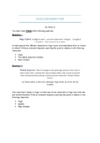 Hugo assessment task